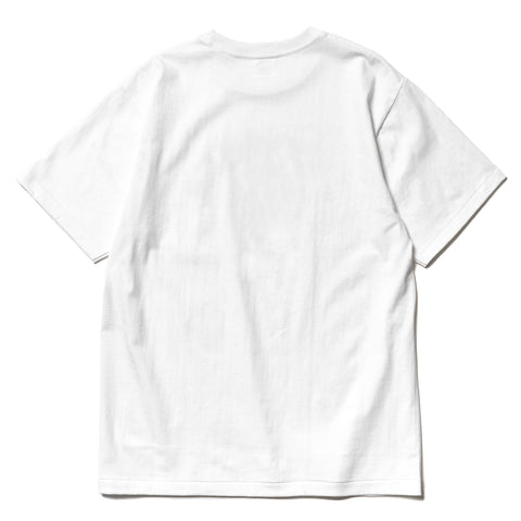 A Bathing Ape ABC Dot Reflective By Bathing Tee White, T-Shirts