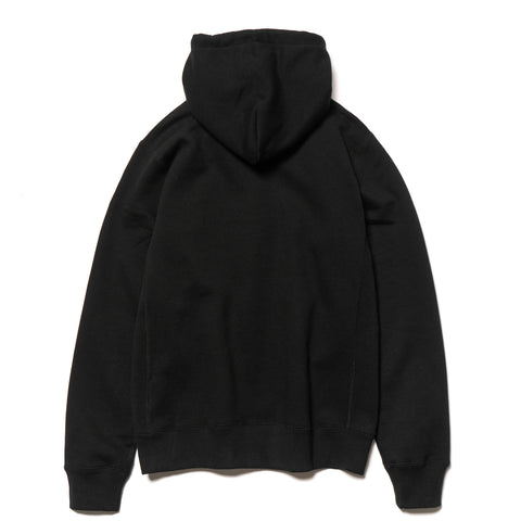 A BATHING APE College Heavy Weight Pullover Hoodie Black, Sweaters