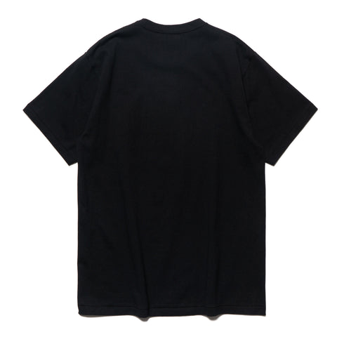 a bathing ape Color Camo Busy Works Tee black x black