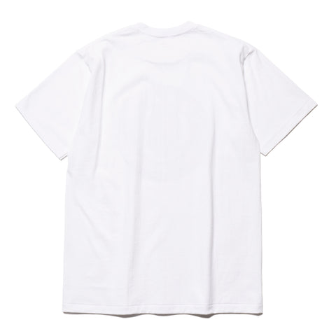a bathing ape Color Camo Busy Works Tee White x Red