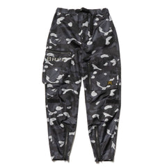 A Bathing Ape Gradation Camo Flight Pants Black, Bottoms