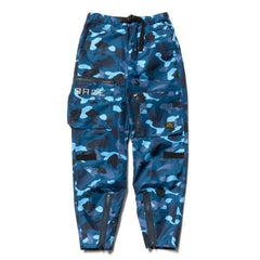 A Bathing Ape Gradation Camo Flight Pants Blue, Bottoms