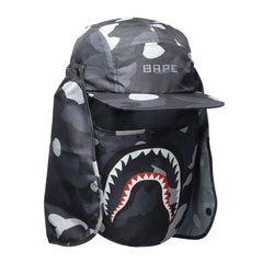 A Bathing Ape Gradation Camo Mask Cap Black, Headwear