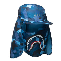 A Bathing Ape Gradation Camo Mask Cap Blue, Headwear