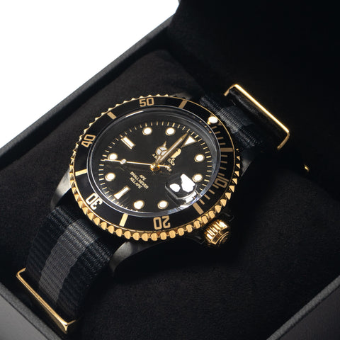 A BATHING APE Type 1 BAPEX (Nato Band) Black, Accessories