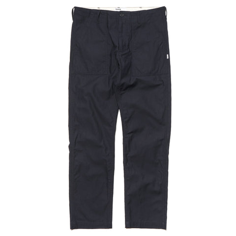 HAVEN Baker Cotton Sateen Pant Navy