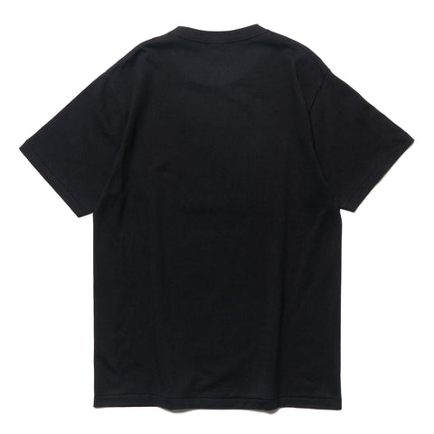 a bathing ape By Bathing Tee Black