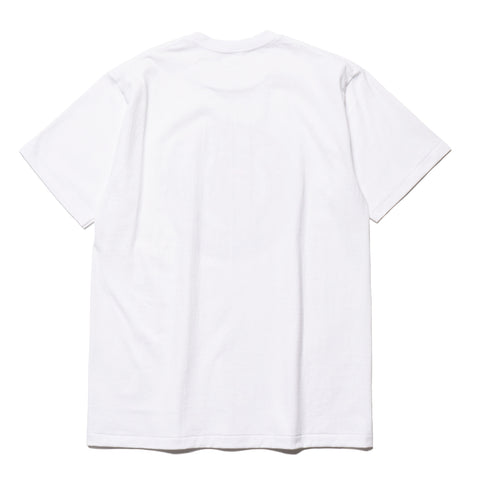 a bathing ape Color Camo Busy Works Tee White x black