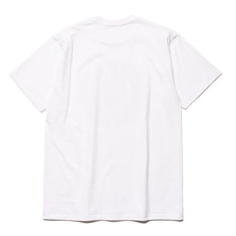 a bathing ape Color Camo Busy Works Tee White x navy
