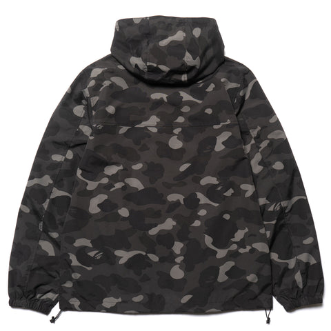 a bathing ape BAPE Color Camo Hoodie Jacket black