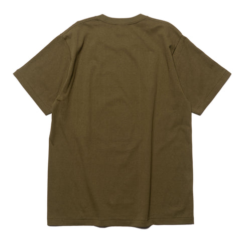 a bathing ape Colors By Bathing Tee Olive Drab