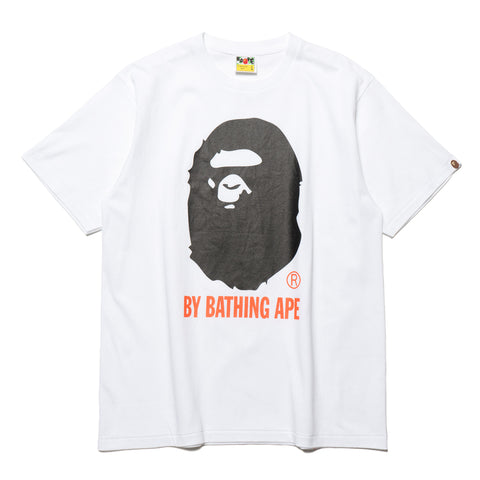 a bathing ape Colors By Bathing Tee white