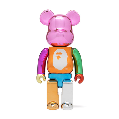 A Bathing Ape BAPE x Medicom Multi Color Foil BE@RBRICK XXV 400%
