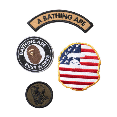 A bathing Ape BAPE Velcro Patch Set