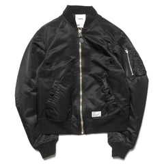 haven MA-1 Bomber Jacket - Nylon Black