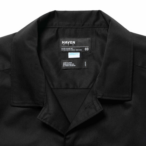 HAVEN Castro Shirt – COOLMAX Black, Shirts