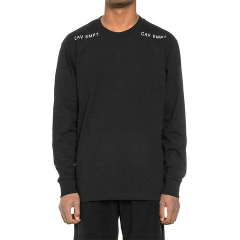 CAV EMPT 011100100 Long Sleeve T Black, T-Shirts