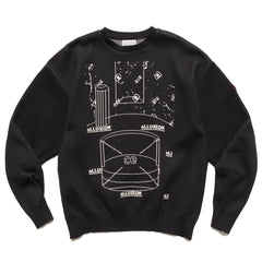Cav Empt Allusion Knit Black, Knits