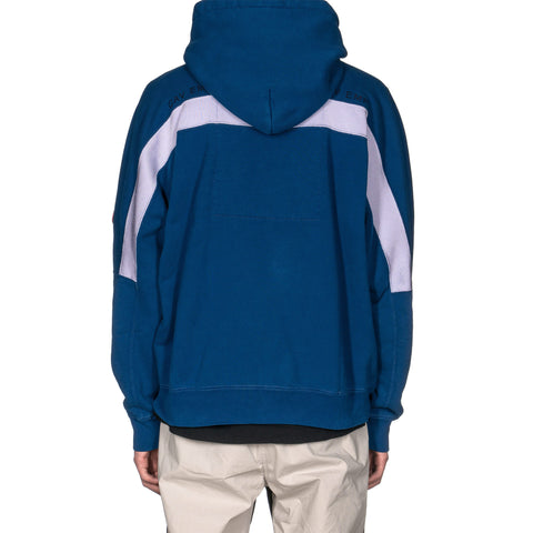 CAV EMPT Center P Rib Heavy Hoody Navy, Sweaters