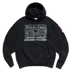 Cav Empt Consumption Heavy Hoody Black, Sweaters