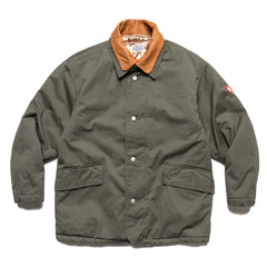 Cav Empt Double Collar Coat Grey, Outerwear