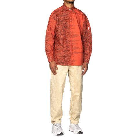 CAV EMPT Fade Noise Big Shirt Red, Shirts
