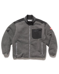 CAV EMPT Furry Back Fleece Gray, Outerwear
