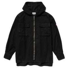 CAV EMPT Hood Zip Shirt Jacket Black, Outerwear
