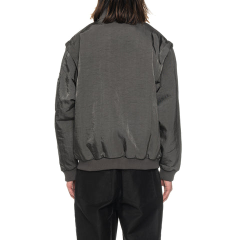 CAV EMPT Lined Utility Zip Jacket Charcoal, Outerwear