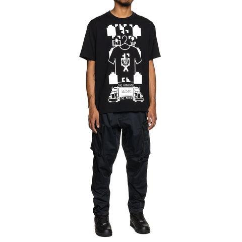Cav Empt MD TheApparatus T Black, T-Shirts