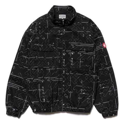 CAV EMPT Noise 7 Zip Jacket Black, Outerwear