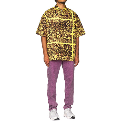 CAV EMPT Noise C2 Short Sleeve Shirt Yellow, Tops