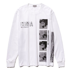CAV EMPT Potentialities Long Sleeve T White, T-Shirts