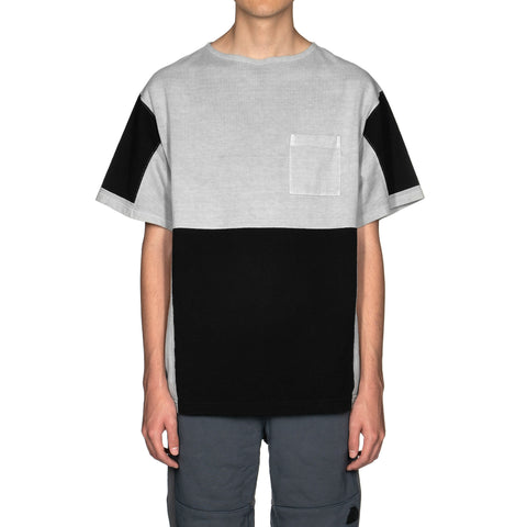 Cav Empt Ziggurat Patch Big T Gray, T-Shirts