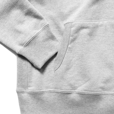HAVEN Chest Logo - Pullover Hoodie H.Gray, Sweaters