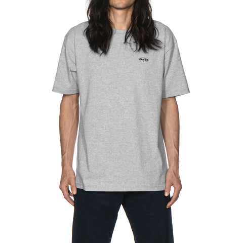 haven Chest Logo - T-Shirt H. Gray