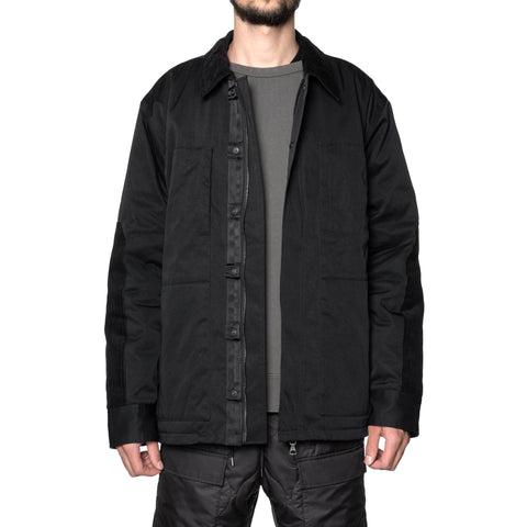 HAVEN Chore Coat - PrimaLoft® Nylon Twill Black, Outerwear