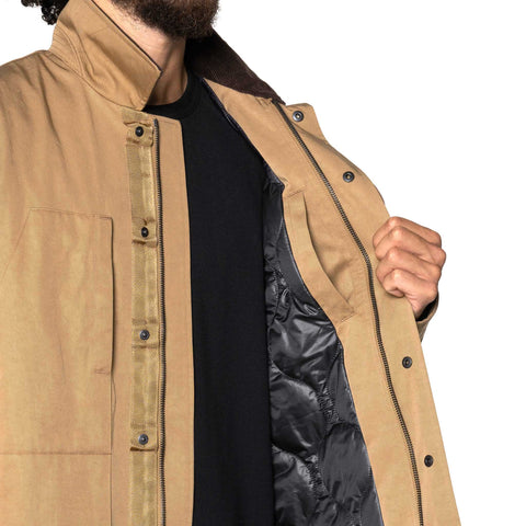 HAVEN Chore Coat - PrimaLoft® Nylon Twill Tan, Outerwear