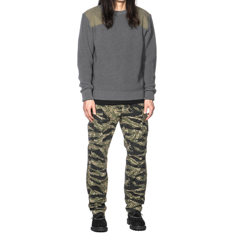 HAVEN Commando Knit Sweater - Wool Gray