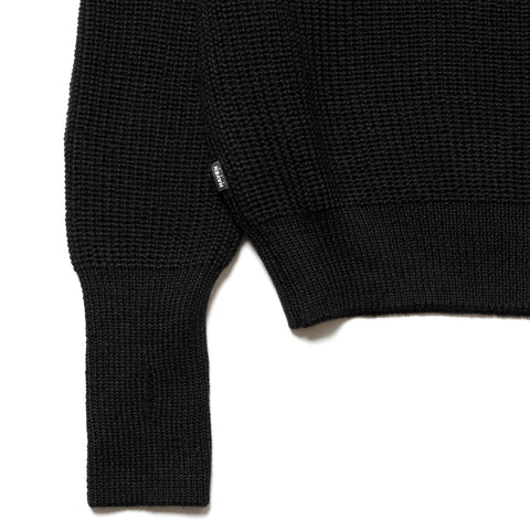 HAVEN Commando BDU Sweater - Wool Black, Knits