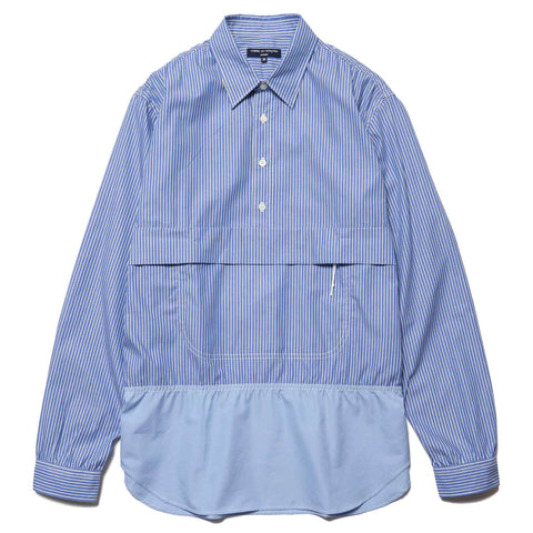 9ee8f923 Comme des Garcons HOMME Cotton Stripe x Cotton Broad Shirt Blue, ...
