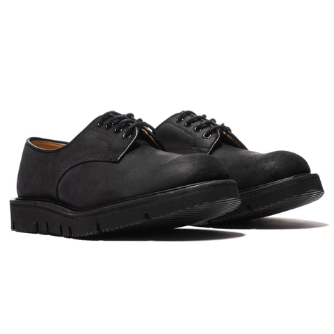 Comme des Garcons HOMME x Tricker's Waxed Commander Tramping Shoes Black, Footwear