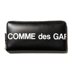 Comme des Garcons WALLET Big Logo Long Wallet Black, Accessories