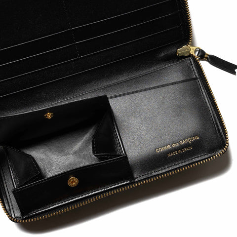 Comme Des Garcons Wallet Big Logo Long Wallet Black, Wallets