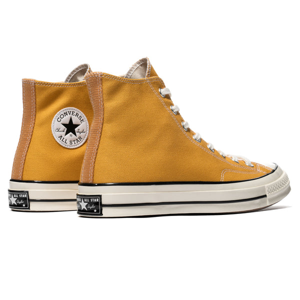 91f46e657da Chuck Taylor All Star Canvas 1970s Hi Sunflower Black Egret – HAVEN