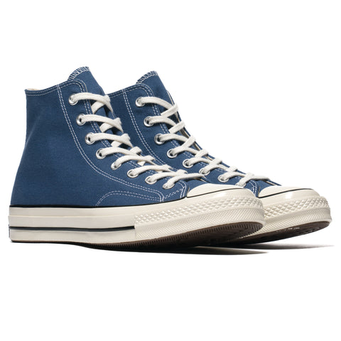42573d518cdb ... Footwear Converse Chuck Taylor All Star Canvas 1970s Hi True  Navy Egret