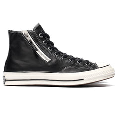Converse Chuck Taylor All Star 1970s Side Zip Hi Black/Egret, Footwear