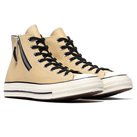 Converse Chuck Taylor All Star 1970s Side Zip Hi Desert Ore/Black, Footwear