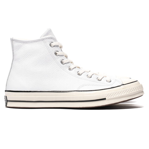 Converse Chuck Taylor All Star 1970s Leather Hi White/Black, Footwear