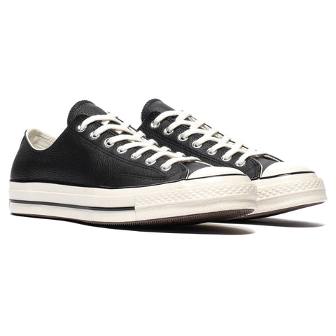 Converse Chuck Taylor All Star 1970s Leather Ox Black/Egret, Footwear
